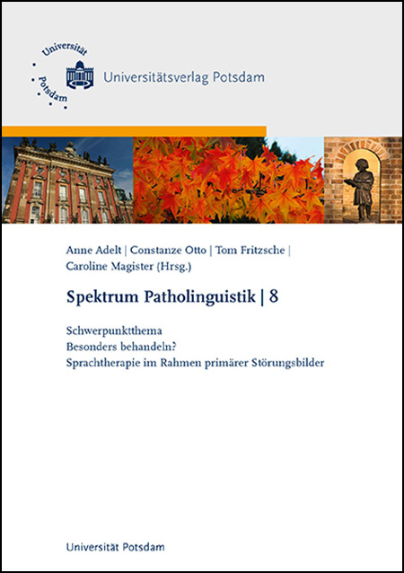 Spektrum Patholinguistik Band 8